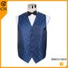 New Fashion Men's Polyester Blue Wholesale Fashion Waistcoat or Vest