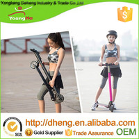Black Color -5.0Ah battery Carbon Fiber Electric Scooter, 5inch wheels