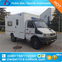 IVECO Brand New Off Road 4WD Ambulance Car Price/Chinese 4x4 ICU Ambulance For Sale