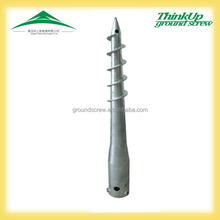 Hot Dipped Galvanized environmentally frendly round pole anchor