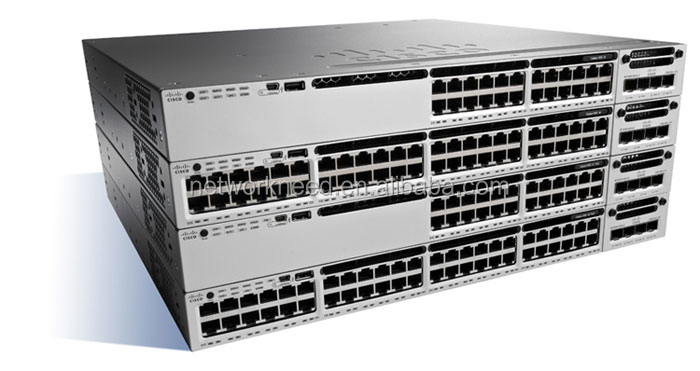 Cisco Catalyst 3850 48 Port PoE IP Services WS-C3850-48P-E