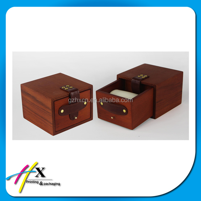 men watch walnut wood drawer box, jewelry package box