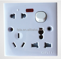 electric wall switch socket with switch