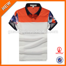 Unique design for fashionable man polo shirts/custom sublimation printing t shirt polo/dri fit polo shirts wholesale
