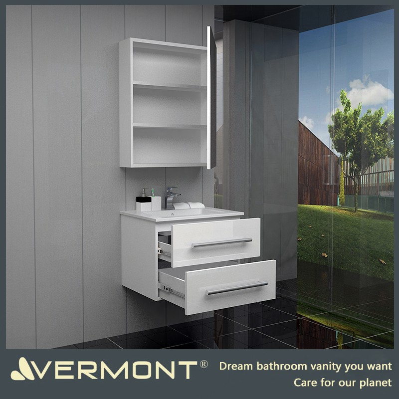 2017 Bathroom vanity sets with mirror set