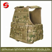 Army Body Armor Bullet Proof Vest, Rip-stop Olive Drab Plate Carrier, New model Military Kevlar Bullet Proof Vest