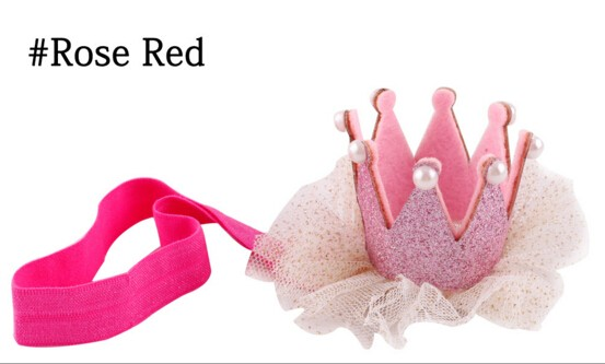 Yiwu wholesale stereo crown baby's hair band