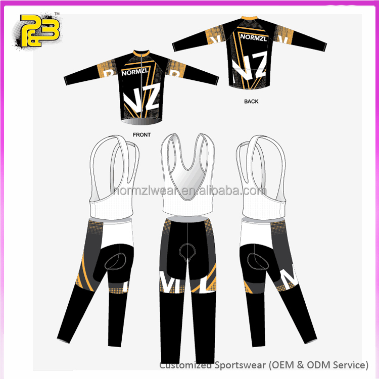 High Quality and Cheap China Custom Active Wear Sets Bike Clothing/Cycling Jersey