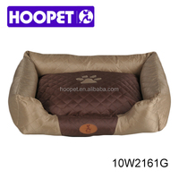 Luxurious dog house soft fabric dog house for sale