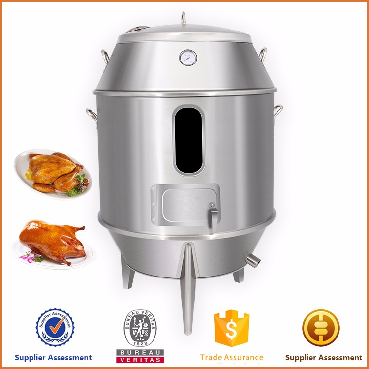 Factory Price Stainless steel charcoal chicken wings grill machine