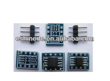 SOIC-8 to DIP-8 PCB SMD Adapter to DIP/SOIC8 to DIP8 SOP8 to DIP8 suitable for narrow and wide