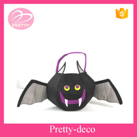 2016 creative design custom felt Halloween bat bag