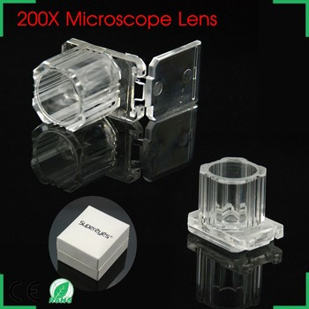 universal mini mobile phone 200X microscope pocket, 200x microscope for mobile phone