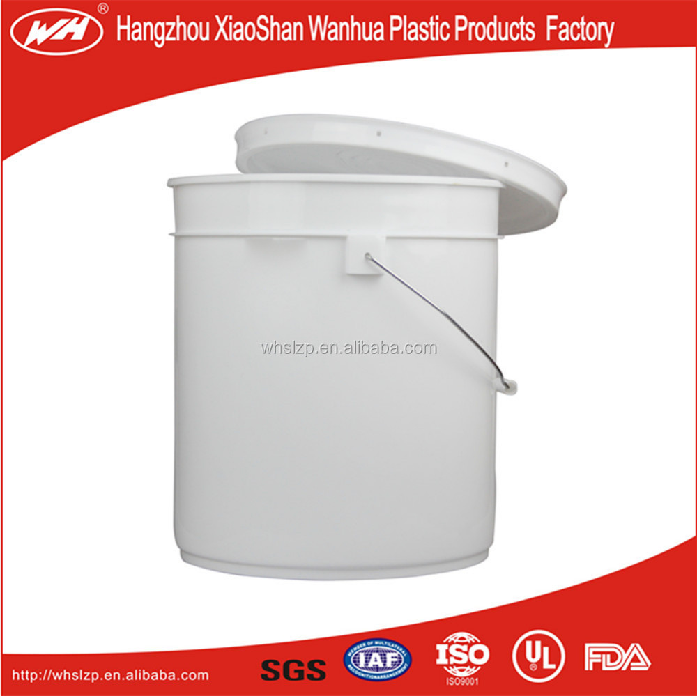Brand New Cheap Plastic Bucket Food Grade 5 Gallon Plastic Buckets Clear Plastic Buckets With