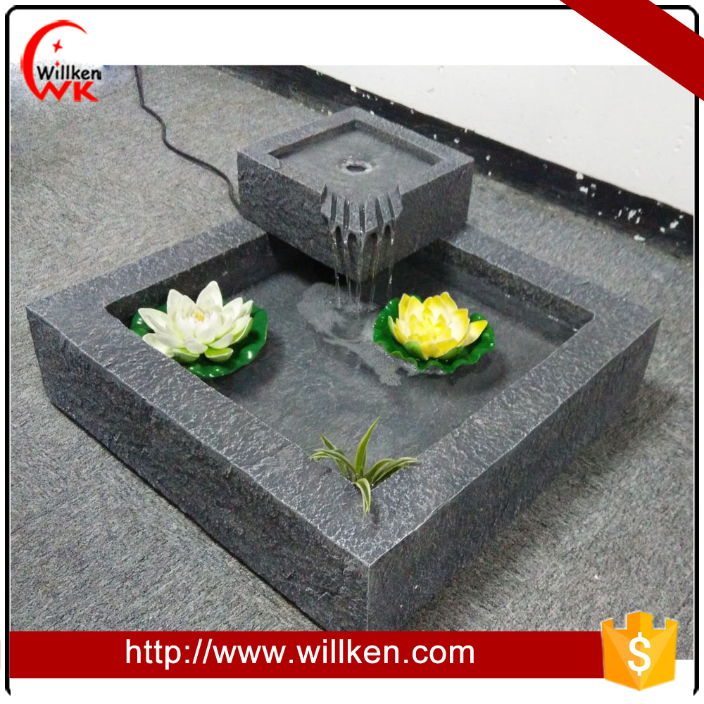 New Design Pet Water Fountain Garden Decoration Supplies