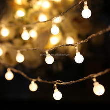 Wholesale 10m 100 leds outdoor patio low voltage DC31V christmas decorative led string lights globe