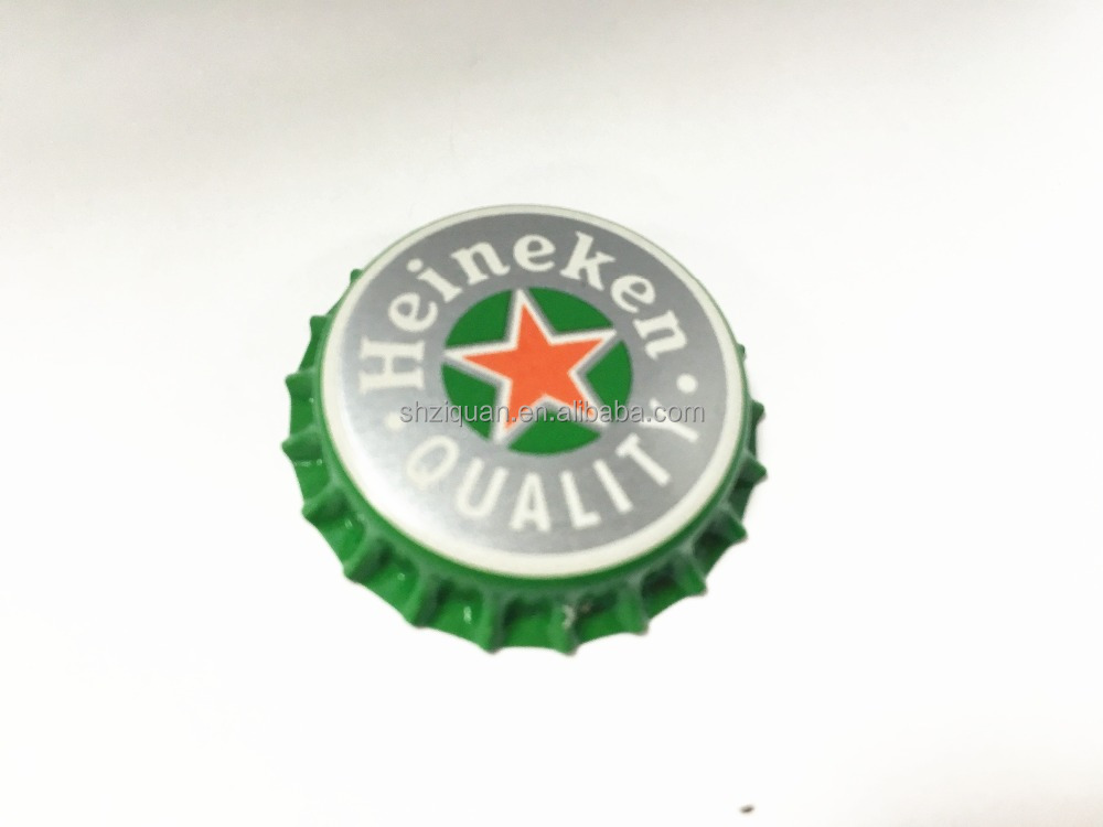 6051902CNN3N Printed Cola Beer Bottle Tinplate Crown Caps standard caps