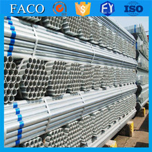 building material galvanized steel pipe galvanized tube steel size