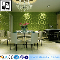 new friendly popular building Fashionable design 3D decorative wall panel