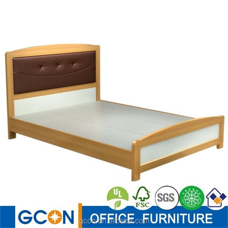 Gcon teak wood bed frame,indian wood double bed designs