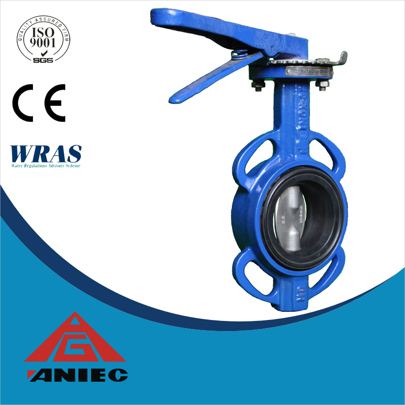 4 inch wafer type butterfly valve cast iron epdm seat price butterfly valve gearbox buttterfly valve