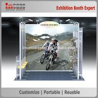 New arrival reusble aluminum exhibition booth material