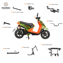 Wholesale japanese aftermarket handlebar steering handle bar aluminum 100cc motorcycle scooter spare parts