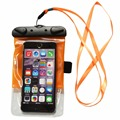Waterproof Case Universal Waterproof Pouch Bag Case with Armband and Lanyard