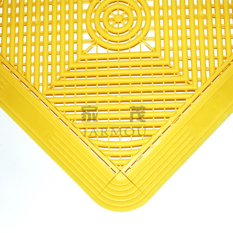 hot sales good price anti-slip pp interlocking sports flooring