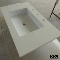 bathroom sanitary ware vanity top with vessel sink