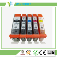 2016 new in china market PGI570 CLI571 refillable ink cartridge compatible for canon mg7750 mg7751 mg7752 mg7753 printer