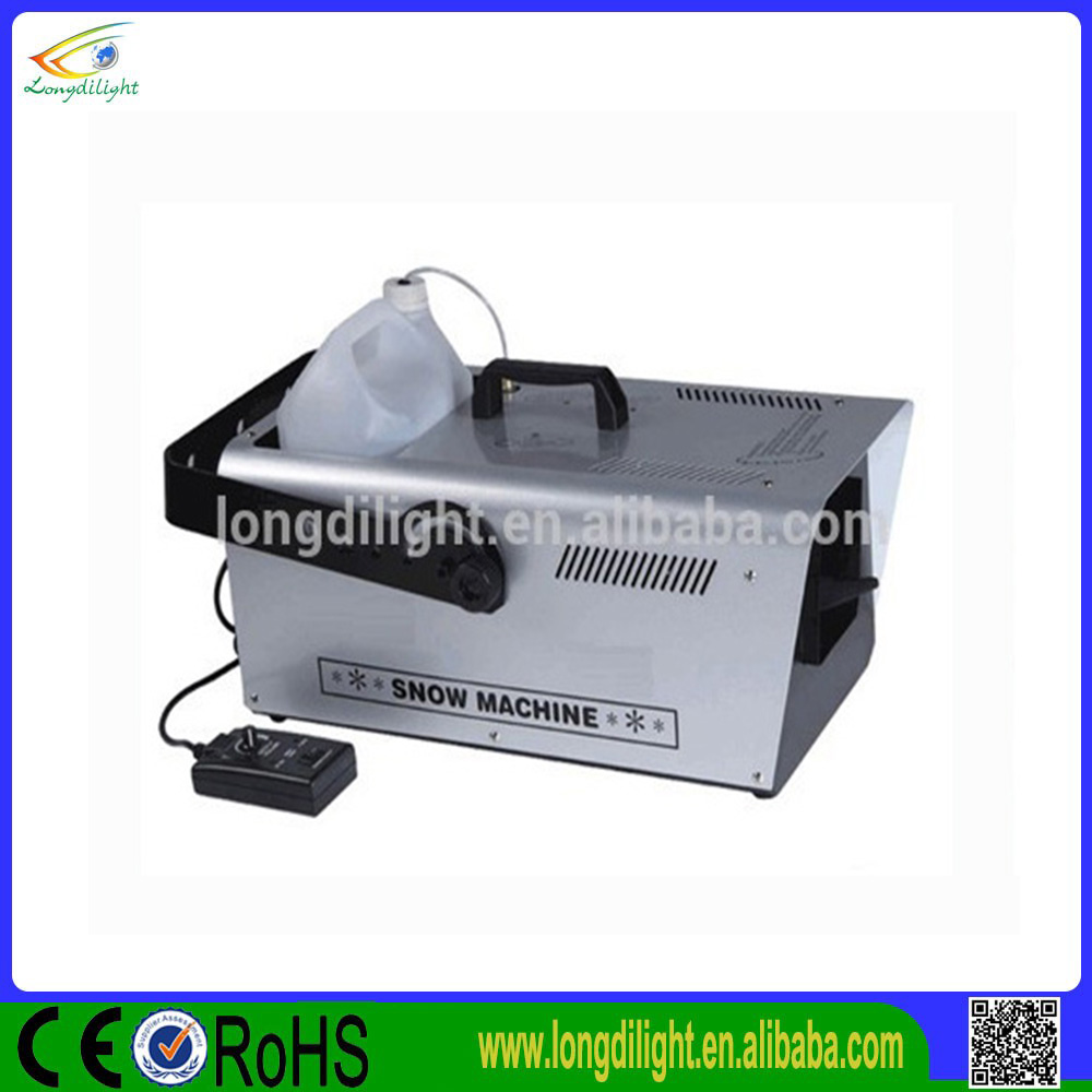 DMX 1500W snow machine for sale