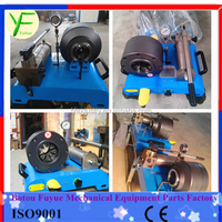 "Easy to move FY92S 1-1/4"" portable hand hydraulic hose pipe fitting press"