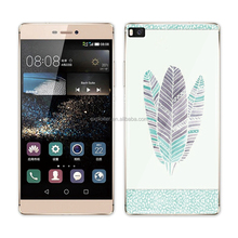 Online shopping self adhesive mobile phone skin sticker for huawei p8
