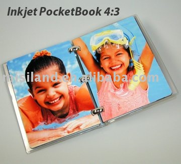Do it by yourself with our kits DIY 4:3 diary book just download free software to design,no need machine,perfect DIY