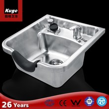 304 Stainless Steel Hair Wash Sink for Barber