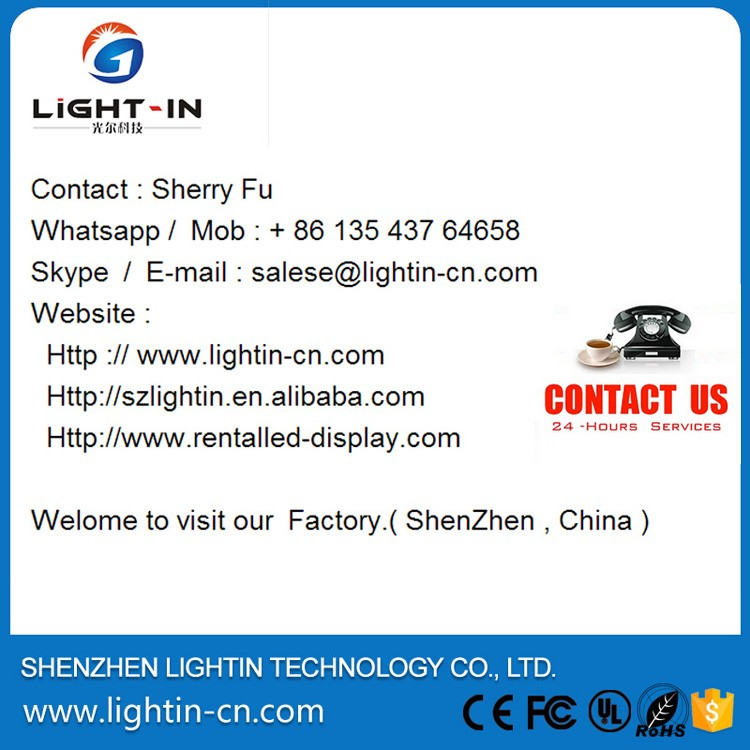 Led display P16 IP65 full color outdoor advertising led display