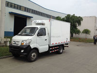 Double/Single Cabin 1-15tons 4x2 china mini refrigerator box truck