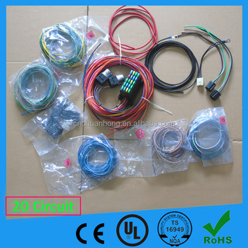 20 Circuit Replacement Wiring Harness complete kits