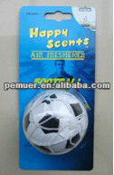 Hanging ball car air freshener auto air freshener/aroma sachet with new car scentss
