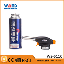 Outdoor Butane jet flame Welding soldering Lighter WS-511C burner mapp gas ignitions for torch lighters