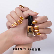 6ml metallic color wholesalers customized enviromental protection without damage free logo,label,sticker nail polish