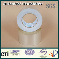 Adhesive tape! Quick sticking High strength glue 16um Solvent Acrylic Aluminum Foil Tape