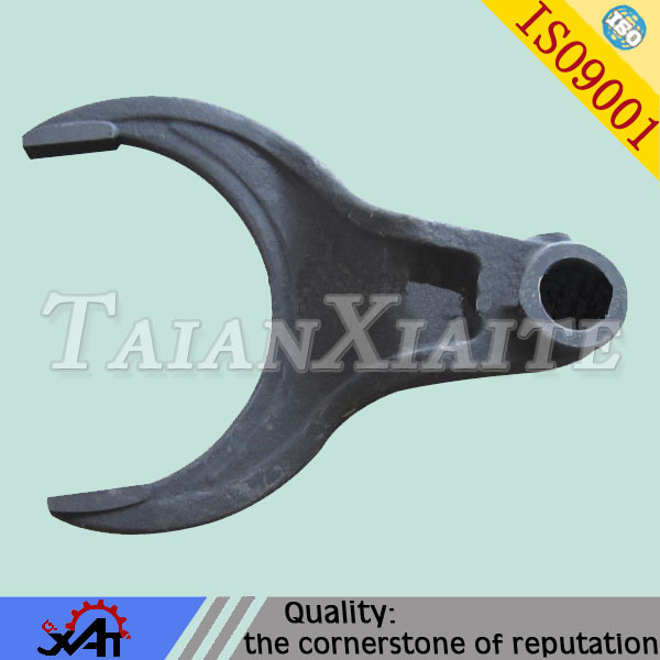 mining shift fork,ductile iron,resin sand casting,CNC machining,OEM&ODM service