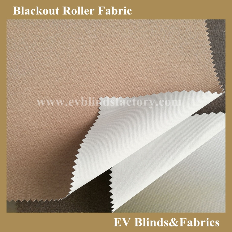 Nature Pigment Coating Blackout Roller Blinds Fabric