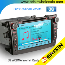 "Erisin ES8288M 8"" Toyota Corolla 2 Din Car Radio GPS Bluetooth USB"