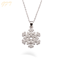 Wholesale ladies accessories silver 925 necklace