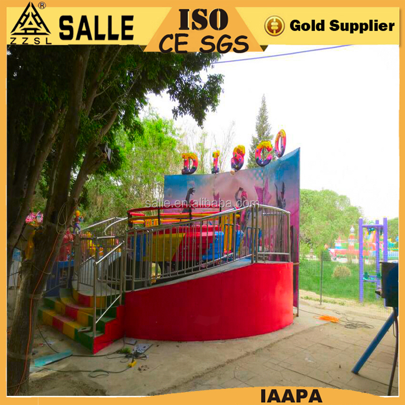Promotion theme park ride disco tagada ride tagada for sale dancing game machine