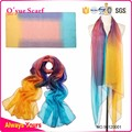 Fashionable Multi Color Huge Size Polyester Fabric Scarf