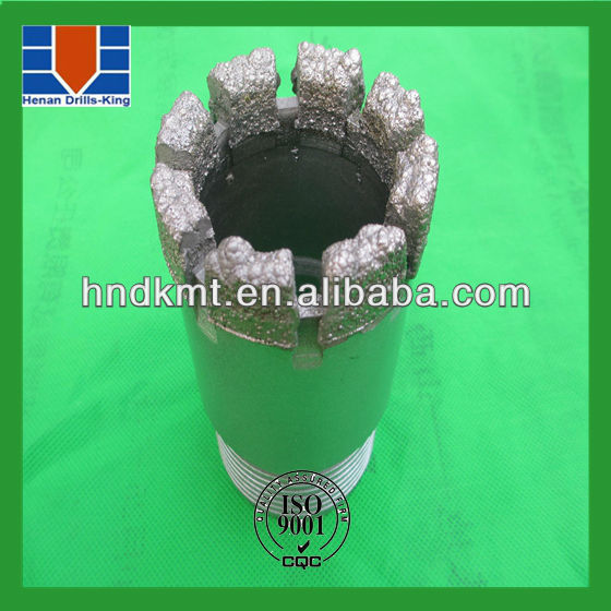 concrete coring tool drill bit,single tube diamond core bits